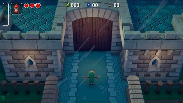 Ele se inspirou vendo após ver o remake de Link's Awakening para Game Boy.