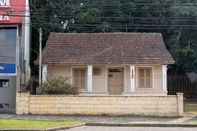 Uma casa na Rua Mateus Leme