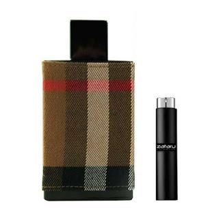 Parfum burberry london man sample