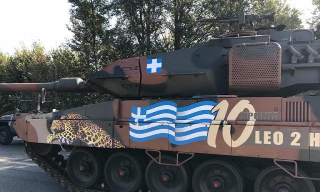 Δείτε την πρόβα των αρμάτων μάχης για την στρατιωτική παρέλαση της 28ης Οκτωβρίου - ΒΙΝΤΕΟ