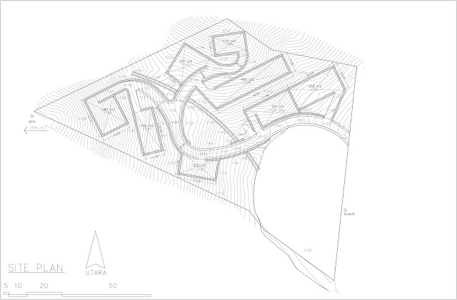 Site Plan bukit