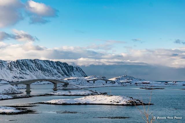 Puentes en Lofoten, por El Guisante Verde Project