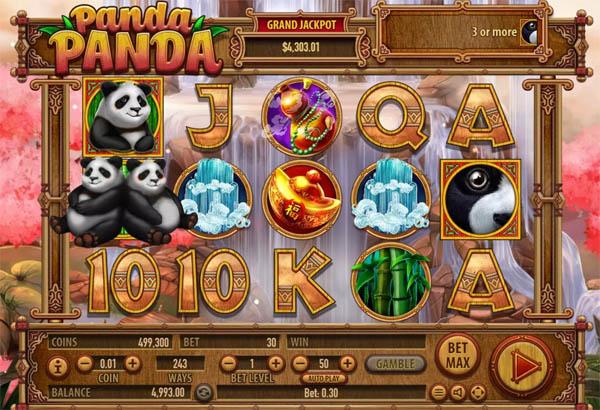 Main Gratis Slot Indonesia - Panda Panda Habanero