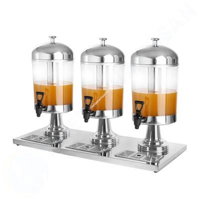 Bình nước buffet không tai 3 ngăn 24 lít AT90512-3