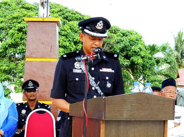 Kadet Polis Pontian Sambutan Peringatan Hari Kor Kadet