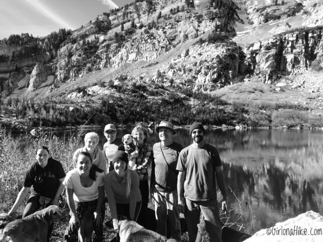 Hiking to Silver Lake & Silver Glance Lake, American Fork Canyon, Utah, Hiking in Utah - With our Dogs
