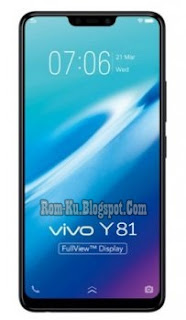 Firmware Vivo Y81 PD1732F (1808) Scatter File