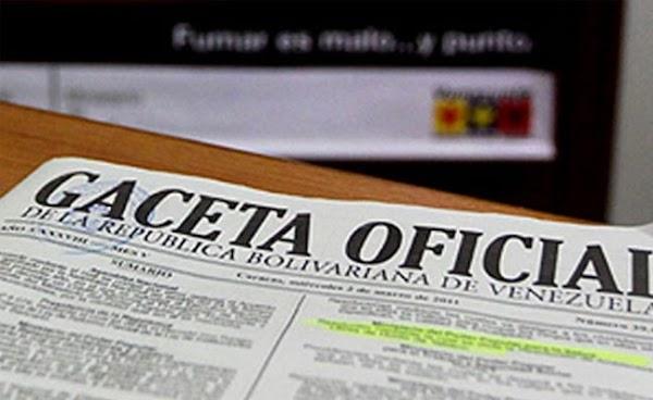 Gaceta Oficial: Incremento Salario Mínimo Diciembre 2018 + Aumento de Cestaticket