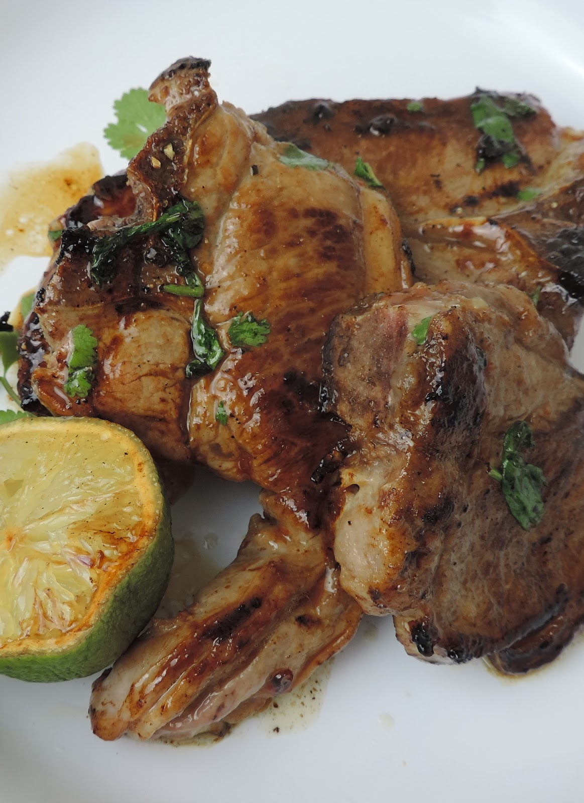 VanillaSaLt: Marinated Lamb Chops