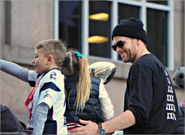 Tom Brady en Boston
