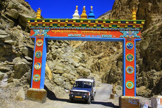 Spiti District in Himachal