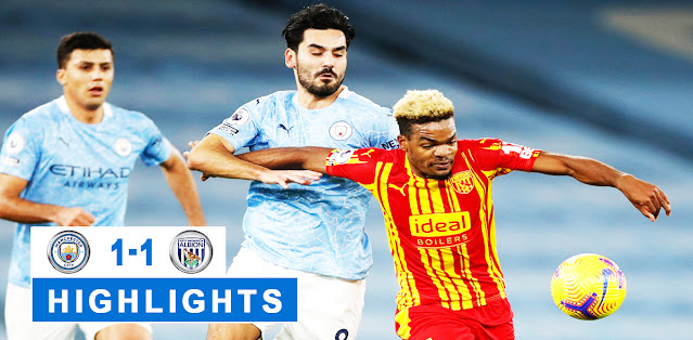 Manchester City vs West Bromwich Albion – Highlights