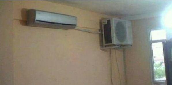 Como instalar correctamente un aire acondicionado solo for Mal olor aire acondicionado