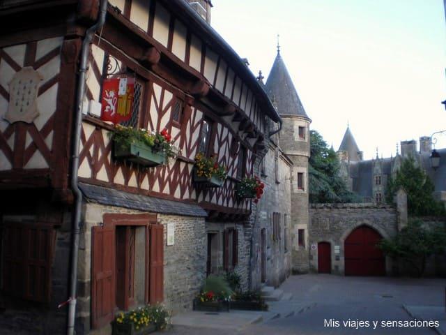 Josselin, Bretaña Francesa