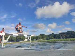 Atleta de Baraúna é Bicampeão Paraibano nos 3 mil metros com obstáculos