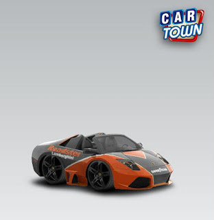 Lamborghini Murcielego LP6504 Roadster 2010 Orange by Funkylion