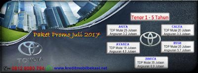 Paket Promo Toyota Juli 2017