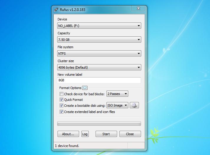 Aplicaciones para crear un disco USB de arranque