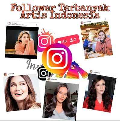 Artis Indonesia Punya Follower Instagram Terbanyak