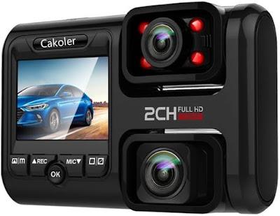 Cakoler UHD Night Vision WiFi Car Camera