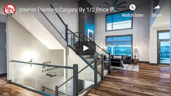 Interior Painting Calgary - Premium Showroom Quality New Painting Finishes For Your Shack