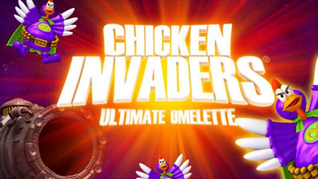 تحميل لعبة الفراخ للكمبيوتر والاندرويد برابط مباشر ميديا فاير download chicken invaders