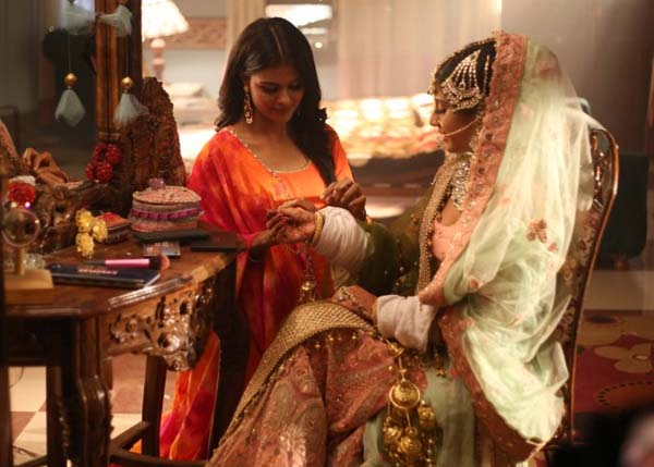 Priyanka Chaudhary and Isha Malviya add a touch of their own to wedding dresses in Udaariyaan
