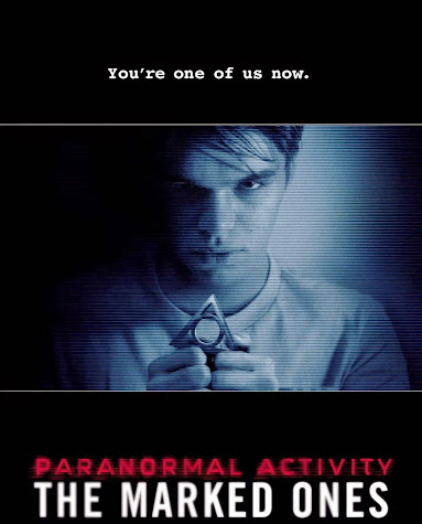 Poster Of Paranormal Activity: The Marked Ones 2014 In Hindi Bluray 720P Free Download