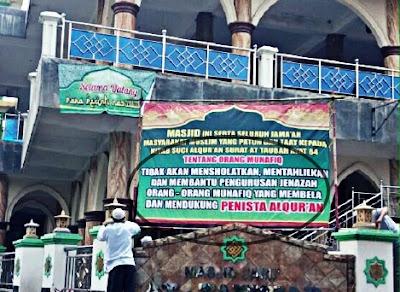 at taubah 84 larangan mensolati pendukung penista al-quran