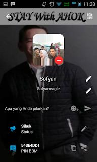 BBM MOD Ahok v2.13.1.14 Apk Terbaru Gratis
