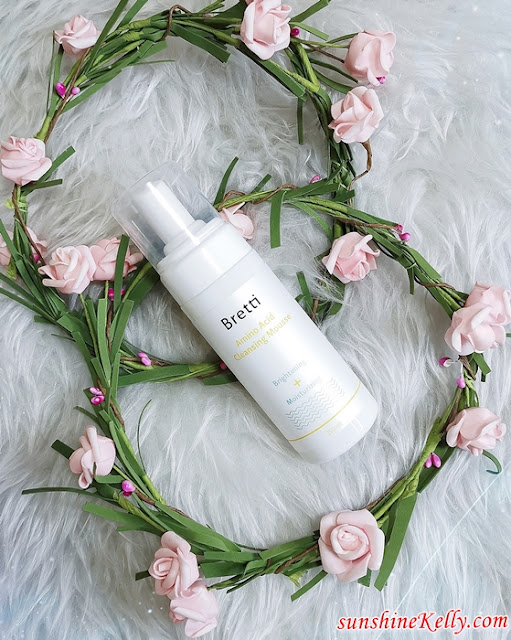 Bretti Brightening & Moisturizing Amino Acid Cleansing Mousse Review, Bretti, Foam Cleanser, Facial Cleanser, Promo Code, Beauty Review, Beauty
