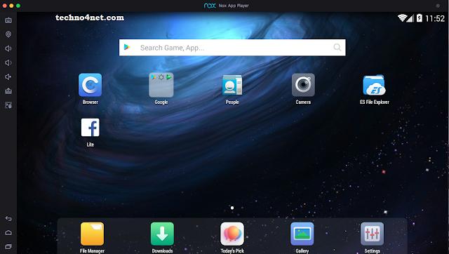 افضل برنامج لتشغيل تطبيقات والعاب الموبايل علي الكمبيوتر Nox App Player