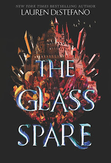 The Glass Spare by Lauren DeStefano book cover