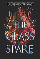 The Glass Spare by Lauren DeStefano book cover and review