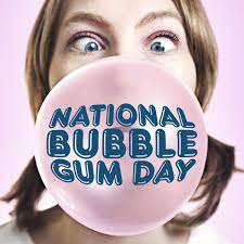 National Bubble Gum Day Wishes Awesome Picture