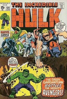 Incredible Hulk #128, the Avengers