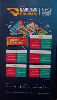 Jadwal Shuttle Bus GIIAS 2018