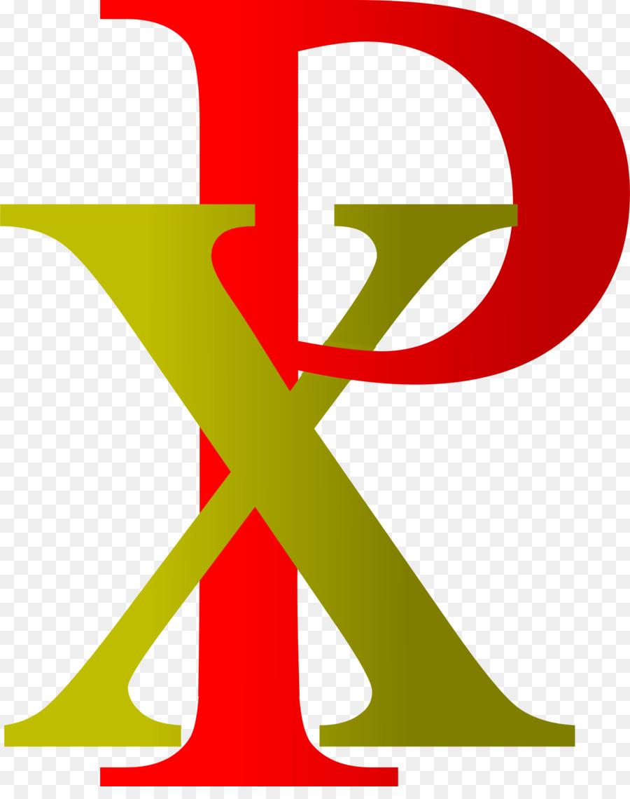 Chi Rho Symbol art Clip