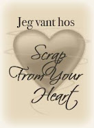 Jeg vant hos Scrap From Your Heart!