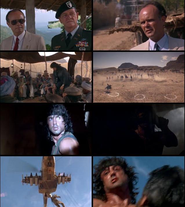 Rambo First Blood III (1988) Dual Audio Hindi 720p BRRip