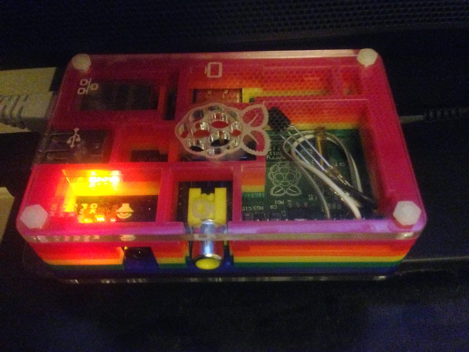 Astro-Beano: Raspberry Pi XBMC infrared remote control