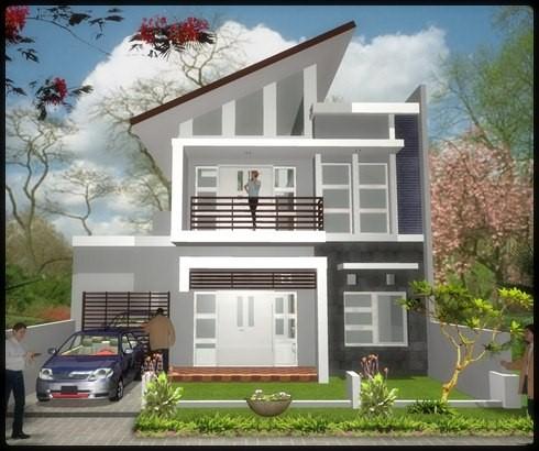 model rumah minimalis 2 lantai 3