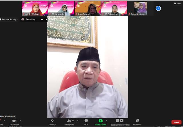 Dr. H. Zainal Abidin Arief, M.Pd