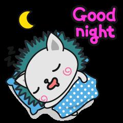 Sticker Lucu Dengan Kata Kata Gambar Good night