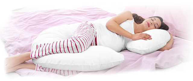 how should a pregnant woman sleep,
