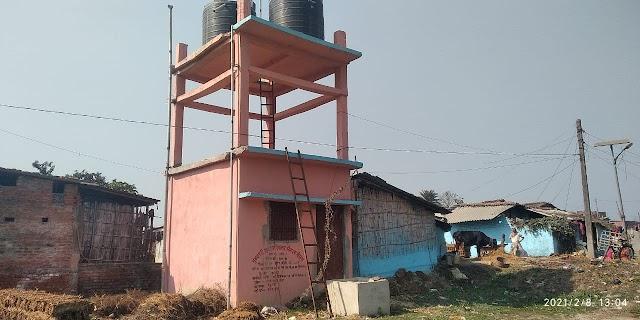 त्योंथ में उद्घाटन के बाद कौन पी रहा नल का जल