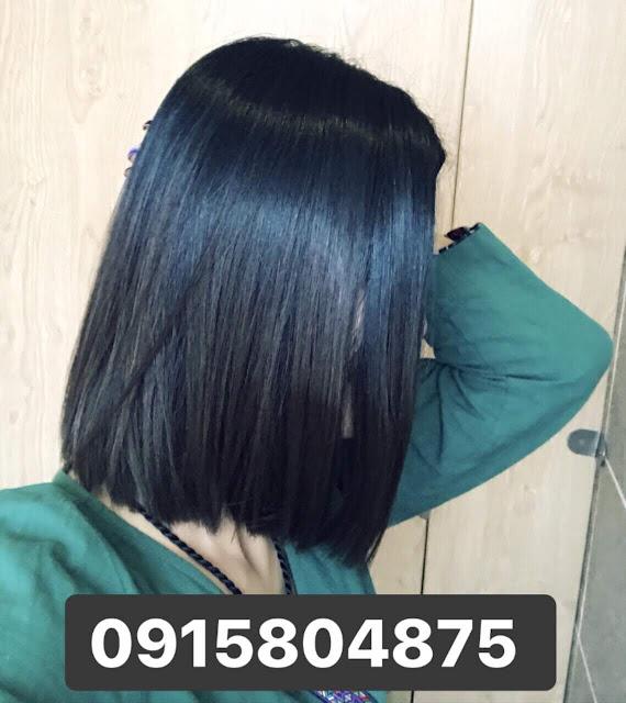 Nhuộm tóc màu Xanh Đen Xám Than Chì vẫn hot nhất 2019 2020