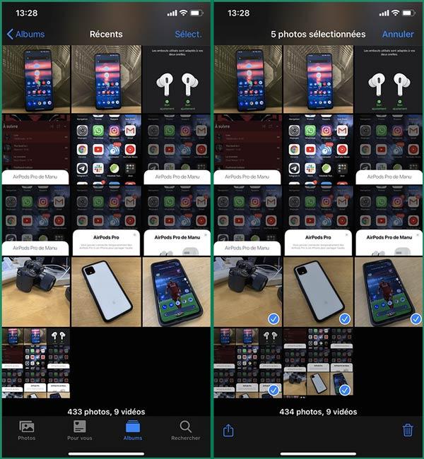 كيفية إخفاء الصور الخاصة في هاتف الايفون