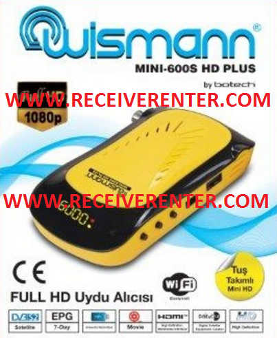 WISMANN MINI-600S HD PLUS RECEIVER BISS KEY OPTION