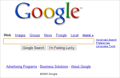 Google-website-in-2006